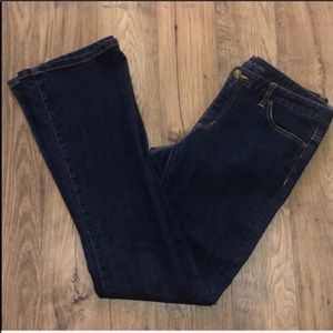 Michael Kors Dark Wash Flare Jeans Size 6